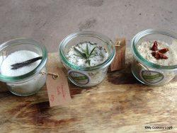 Aromatisierte Salze