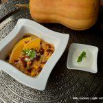Curry mit Kürbis & Roten Linsen