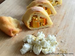 Kartoffelteig Maultaschen mit Kürbisfüllung