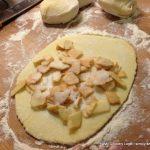 Kartoffelteig Maultaschen mit Apfelfüllung