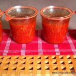Tomaten-Sugo eingeweckt